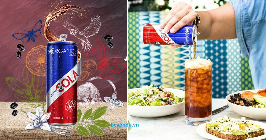 nuoc soda huu co Organic By Red Bull Simple Cola