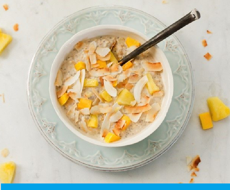 lam tropical overnight oats