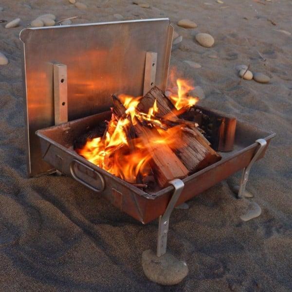Bếp nướng than hoa tự chế được các phượt thủ làm như thế nào | monmientrung.com
