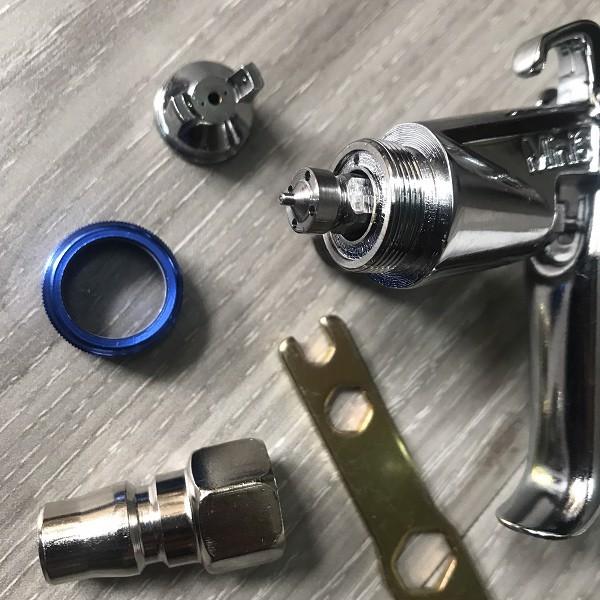 súng phun sơn mini 6 có đầu bép bằng inox