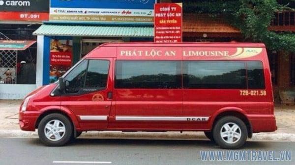 Xe Limousine Phát Lộc An Vũng Tàu