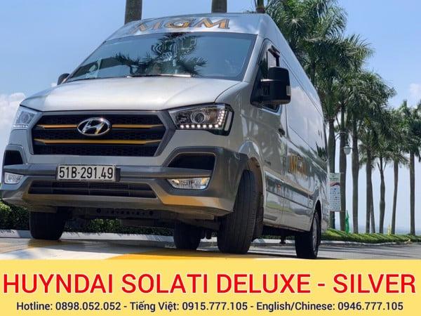 Thue xe 16 cho Hyndai Solati