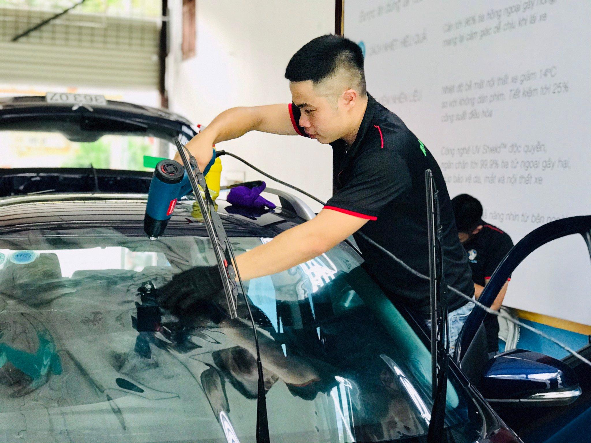 Dán phim cách nhiệt chống nóng Long Biên - Hà Nội