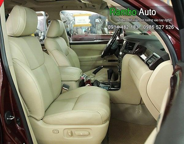 Bọc ghế da xe Lexus LX 570, RX 350