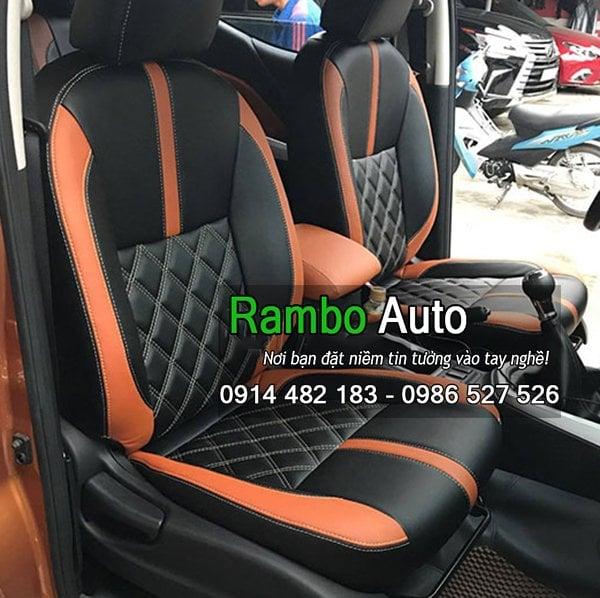 Bọc ghế da công nghiệp xe Nissan Navara