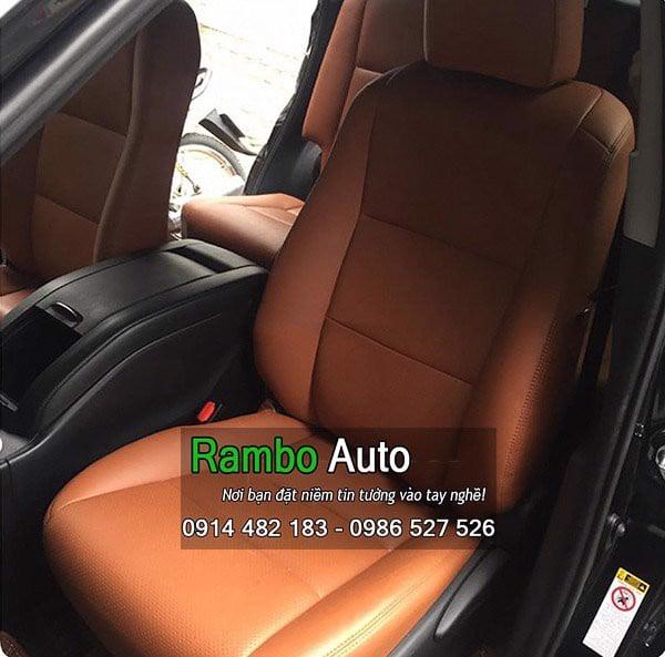 Bọc ghế da xe Toyota Highlander 2017