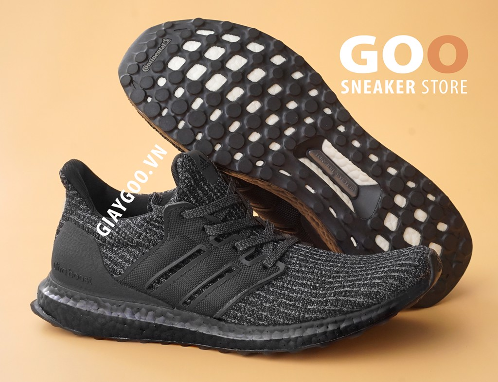 ultra boost full đen