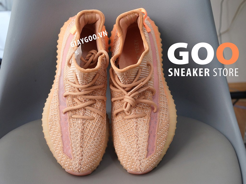 giày yeezy 350 v2 clay replica