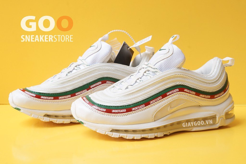 Nike Air Max 97 Undefeated Trắng