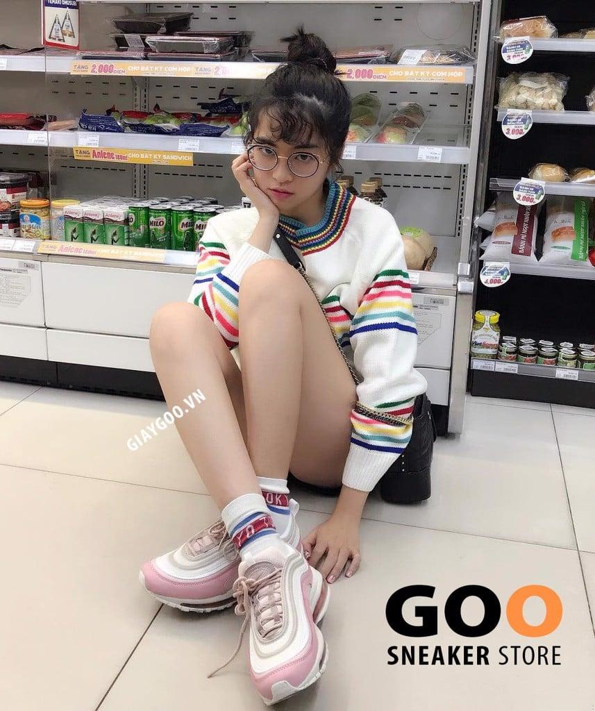 giày nike air max 97 hồng