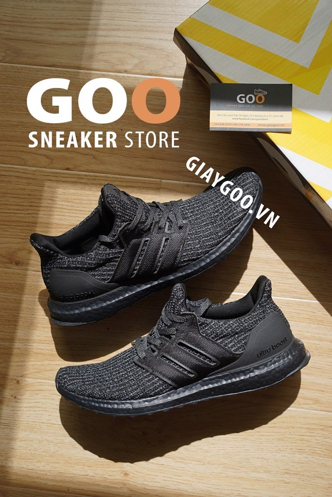 ultra boost full black