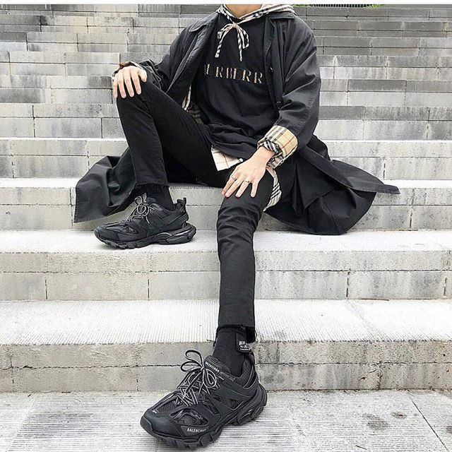 balenciaga track outfit