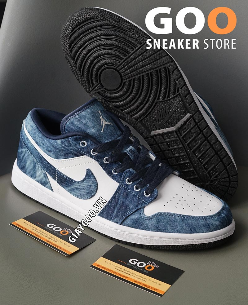 nike air jordan 1 low washed denim 1:1