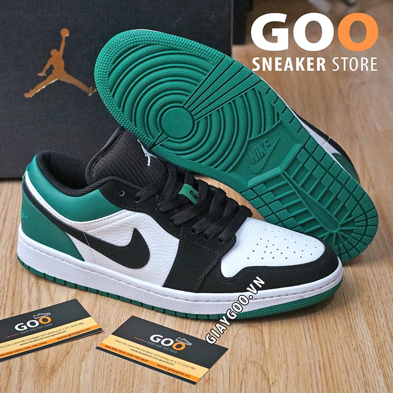 nike jordan 1 low mystic green