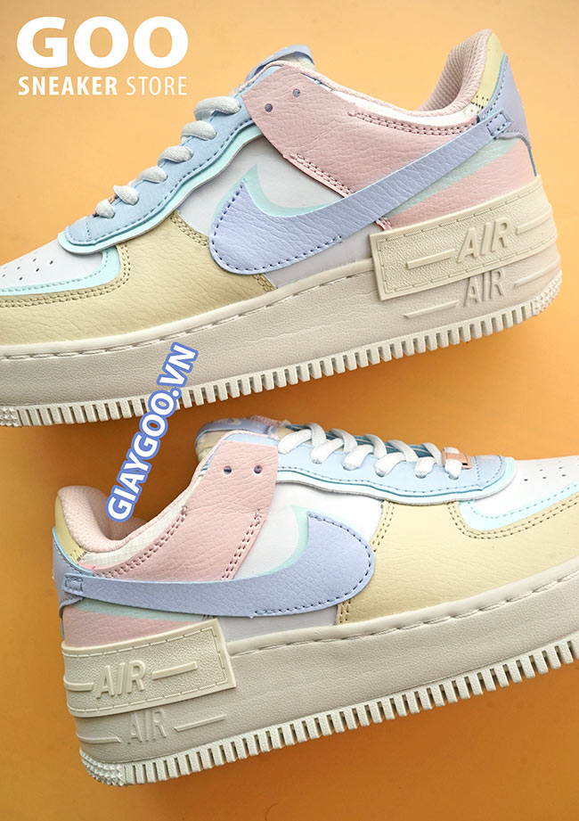 nike air force 1 shadow macaroon candy