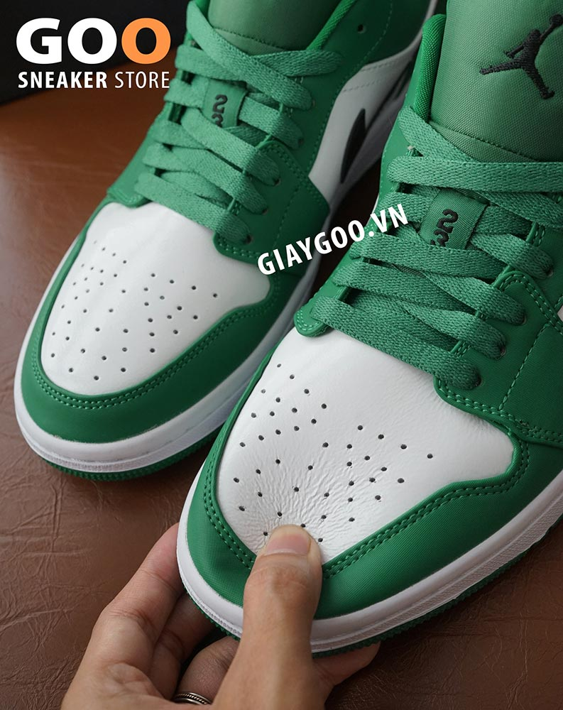 nike jordan 1 low pine green rep 1:1