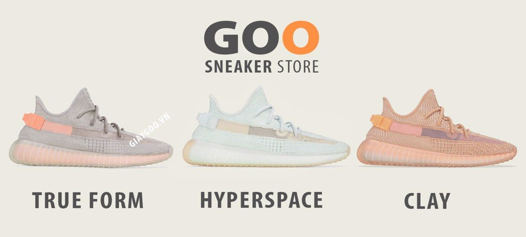 yeezy 350 v2 clay true form hyper space