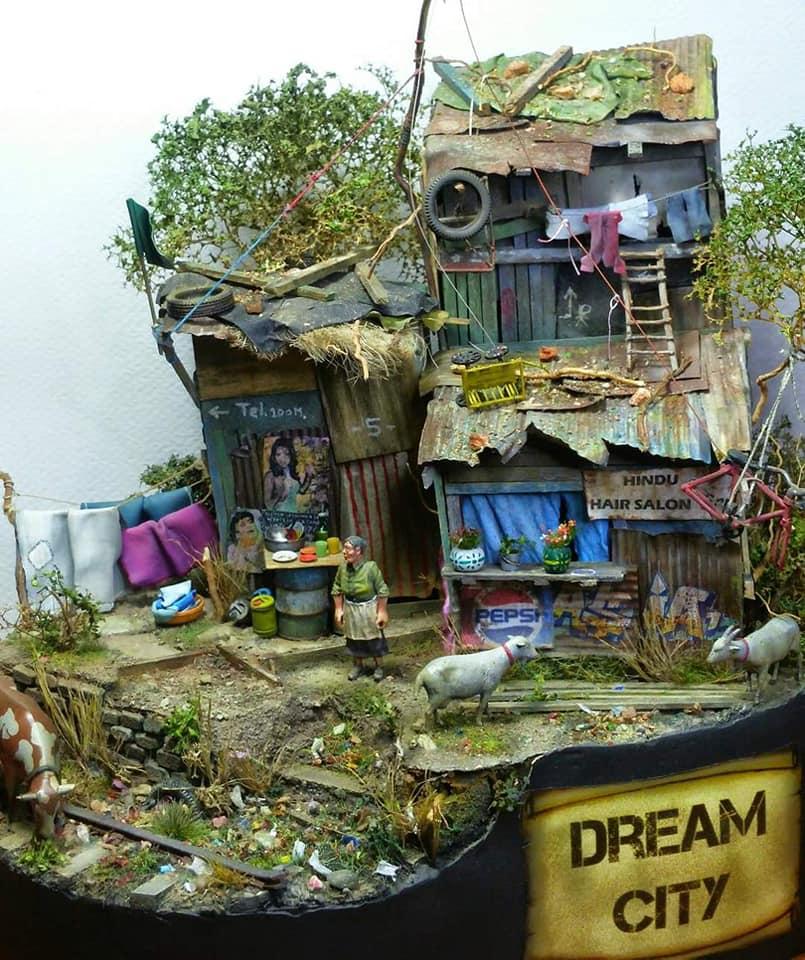 Kiệt tác khu ổ chuột 1:35 của nghệ nhân George Mevsuti
