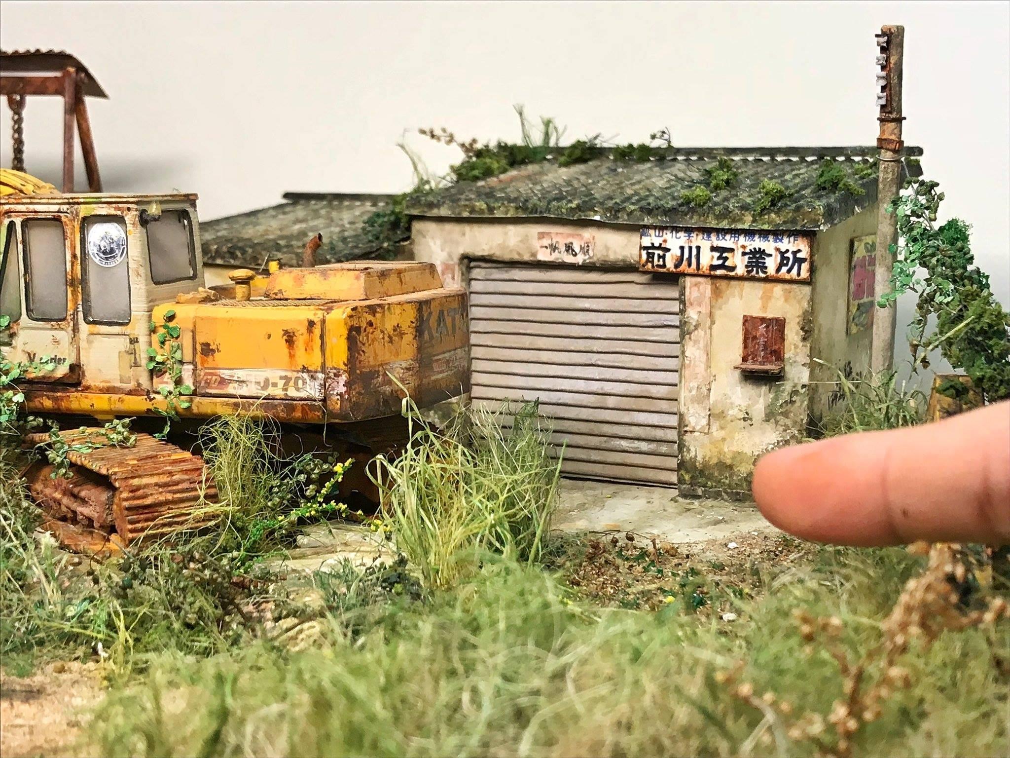Diorama cực chất của nghệ nhân Chau Wen Pok