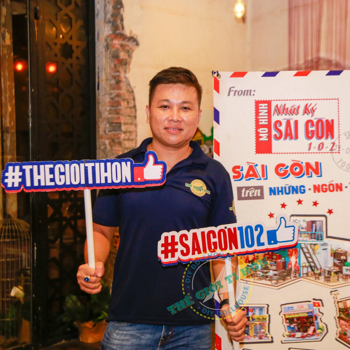 Sự Quyến Rũ Khó Cưỡng Tại Triển Lãm Nhật Ký Sài Gòn 102 - Sài Gòn Trên Những Ngón Tay