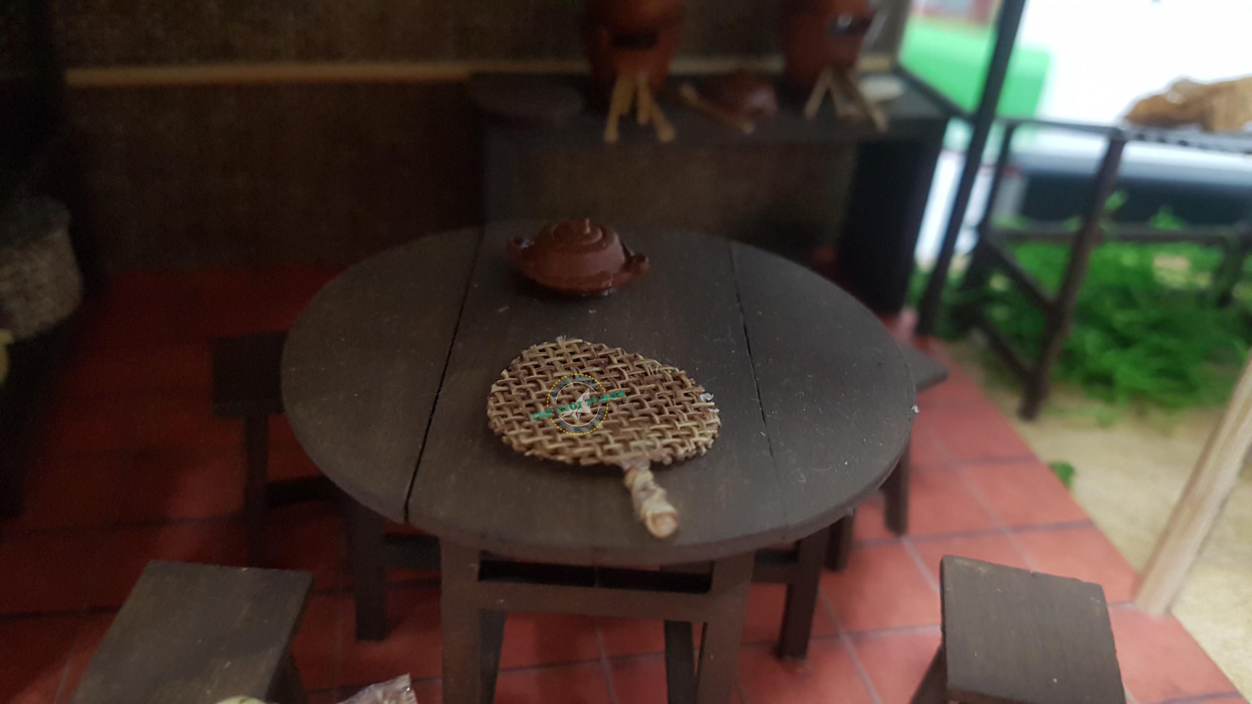 Tác Phẩm Mô Hình Quê Hương Bếp Miền Tây Tự Lắp Ráp Của Chị Oanh - MT01