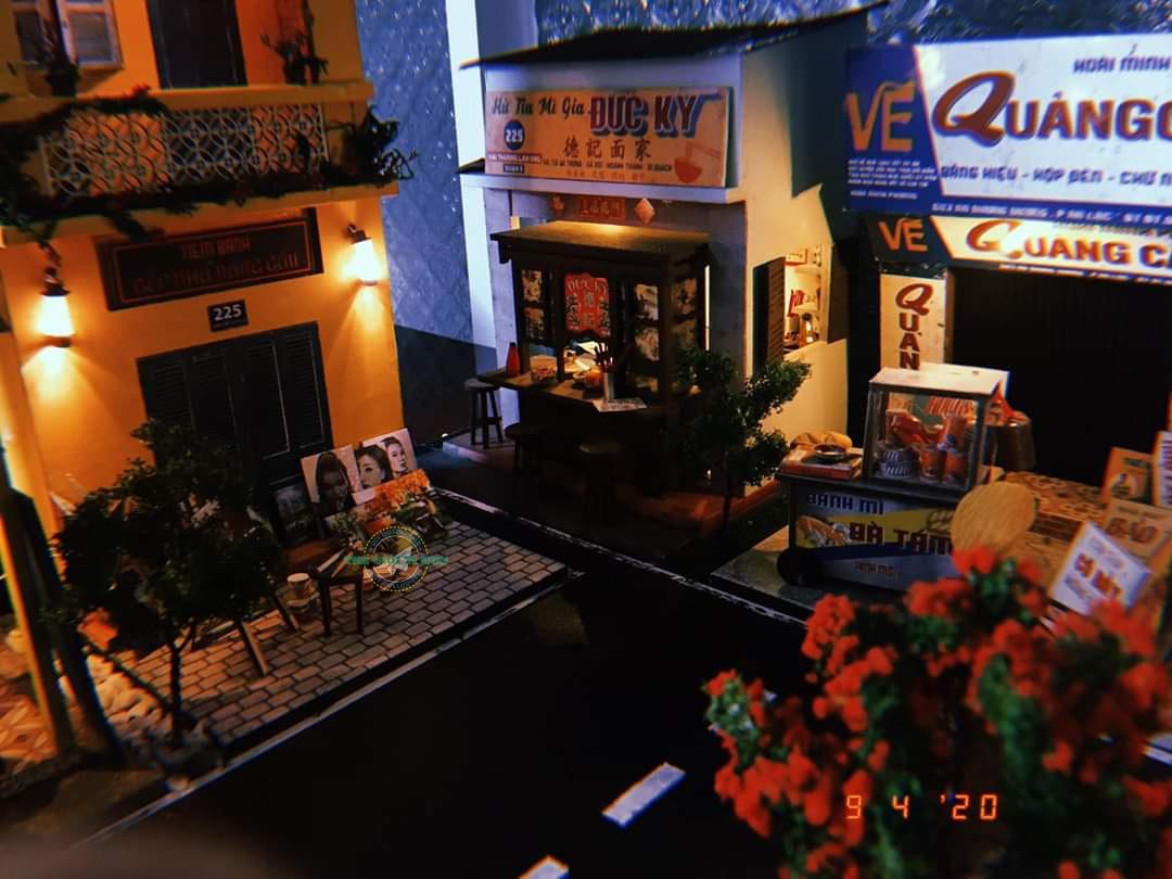Kiệt Tác Mô Hình Đường Phố Sài Gòn Xưa Và Nay Thu Nhỏ Của Chị Hồng Ngọc