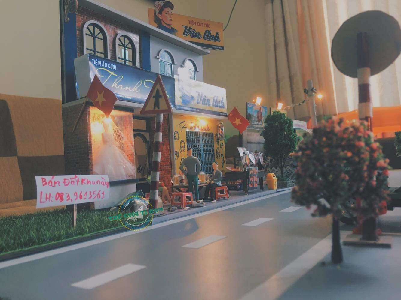 Bộ Sưu Tập Các Tác Phẩm  Mô Hình Sài Gòn Xưa Bằng Gỗ DIY Của Anh Nguyễn Mạnh Cường