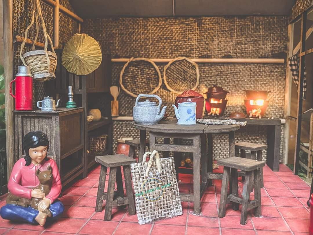 Kiệt Tác Mô Hình Gỗ DIY Bếp Miền Tây Xưa Của Bạn Hoàng Đạt - MT01