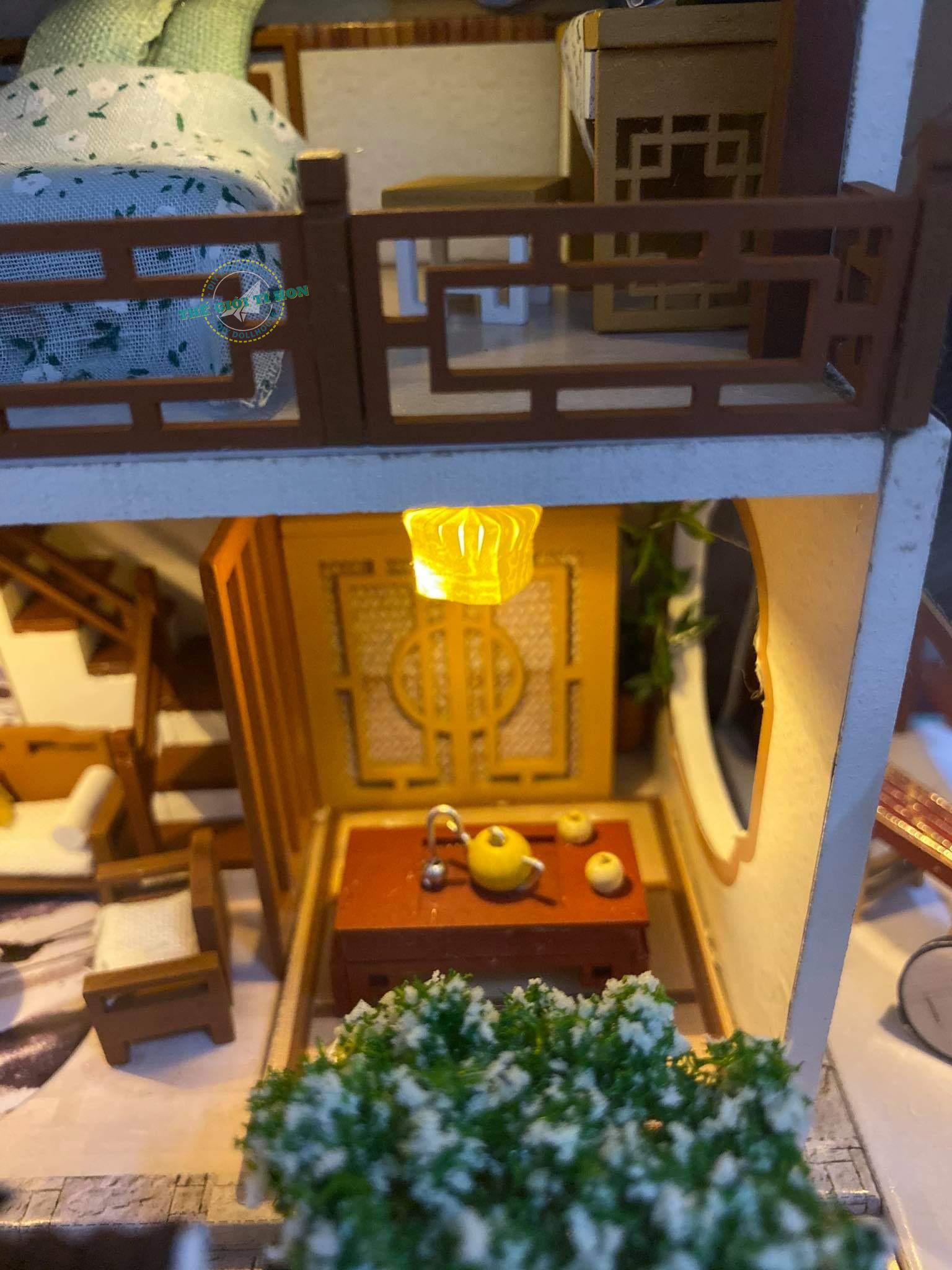 Đồ Chơi Mô Hình Gỗ DIY Cổ Trang Của Bạn Tân - M912