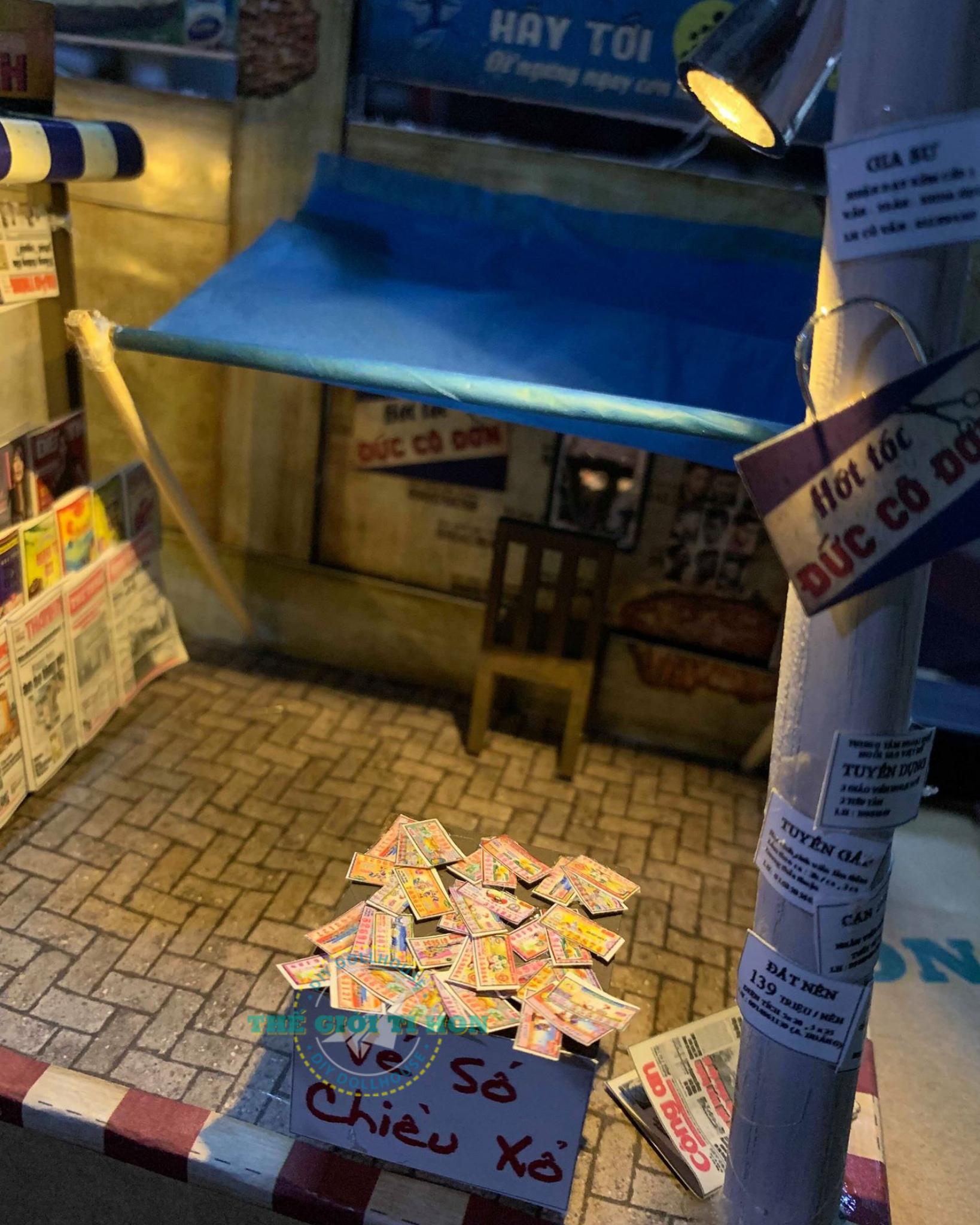 Cửa Hàng Đường Phố Sài Gòn DIY Của Nhan Tuyết Nhi