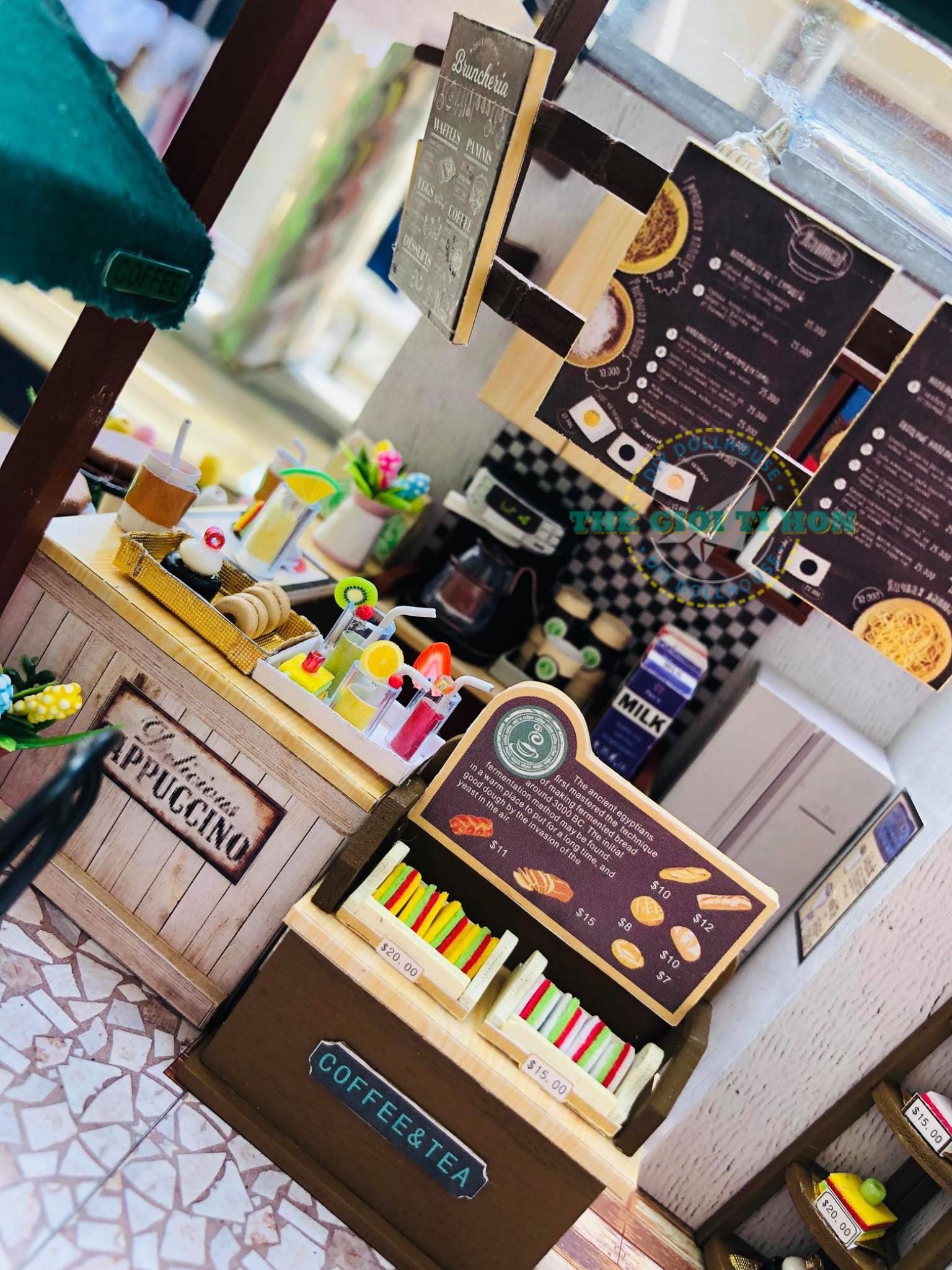 Cửa Hàng Nhỏ Bằng Gỗ DIY Của Lyly Candy