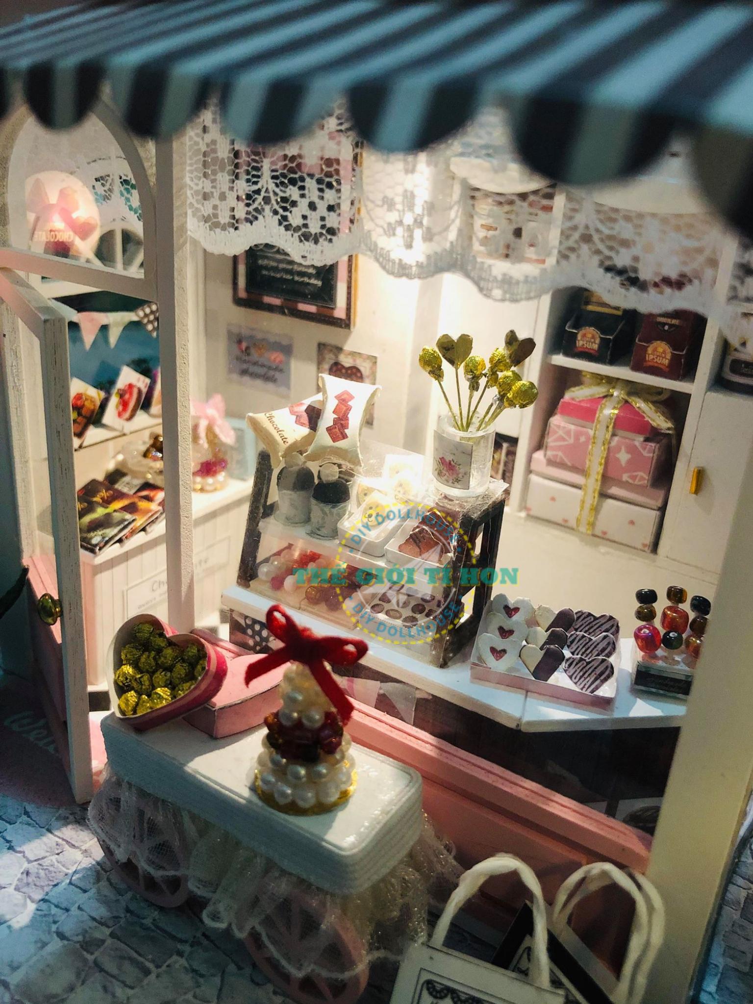 Đồ Chơi Bằng Gỗ Quán Bé Xinh Xắn Handmade Của Lyly Candy
