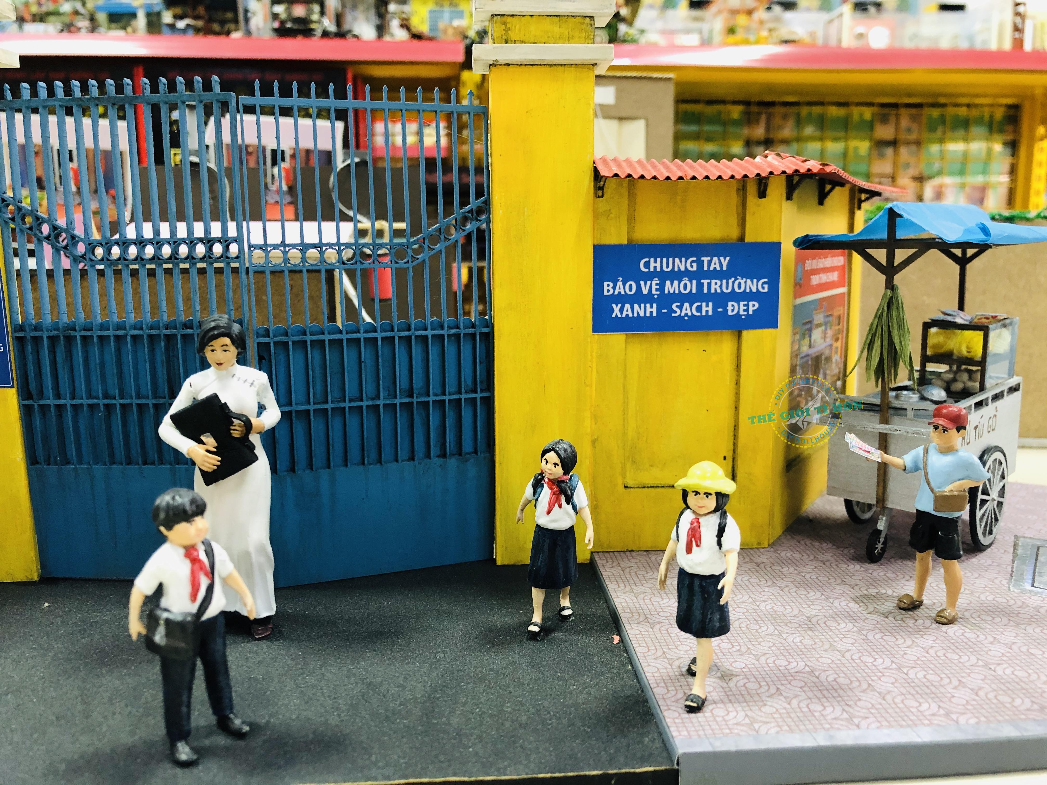 Mô Hình Sài Gòn Thu Nhỏ - Hồi Ức Mái Trường Xưa - GP02