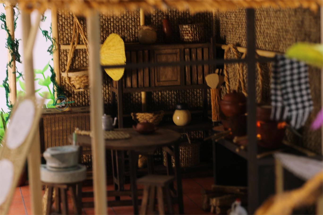 mô hình gỗ diy tí hon bếp lửa hồng miền tây nam bộ - MT01 (1)