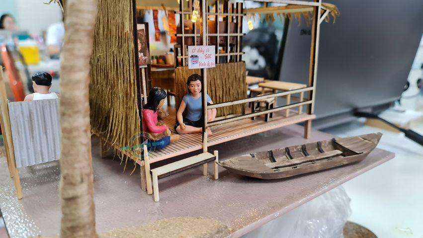 mô hình miền tây sông nước bằng gỗ DIY MT02 - Điệu Hò Phương Nam (1)