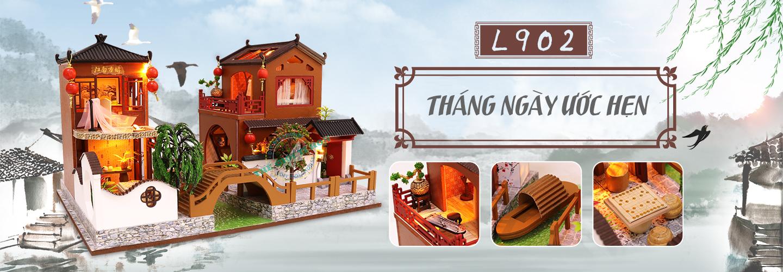 Nhà Mô Hình Cổ Trang Bằng Gỗ DIY -Tháng Ngày Ước Hẹn - Mã L902