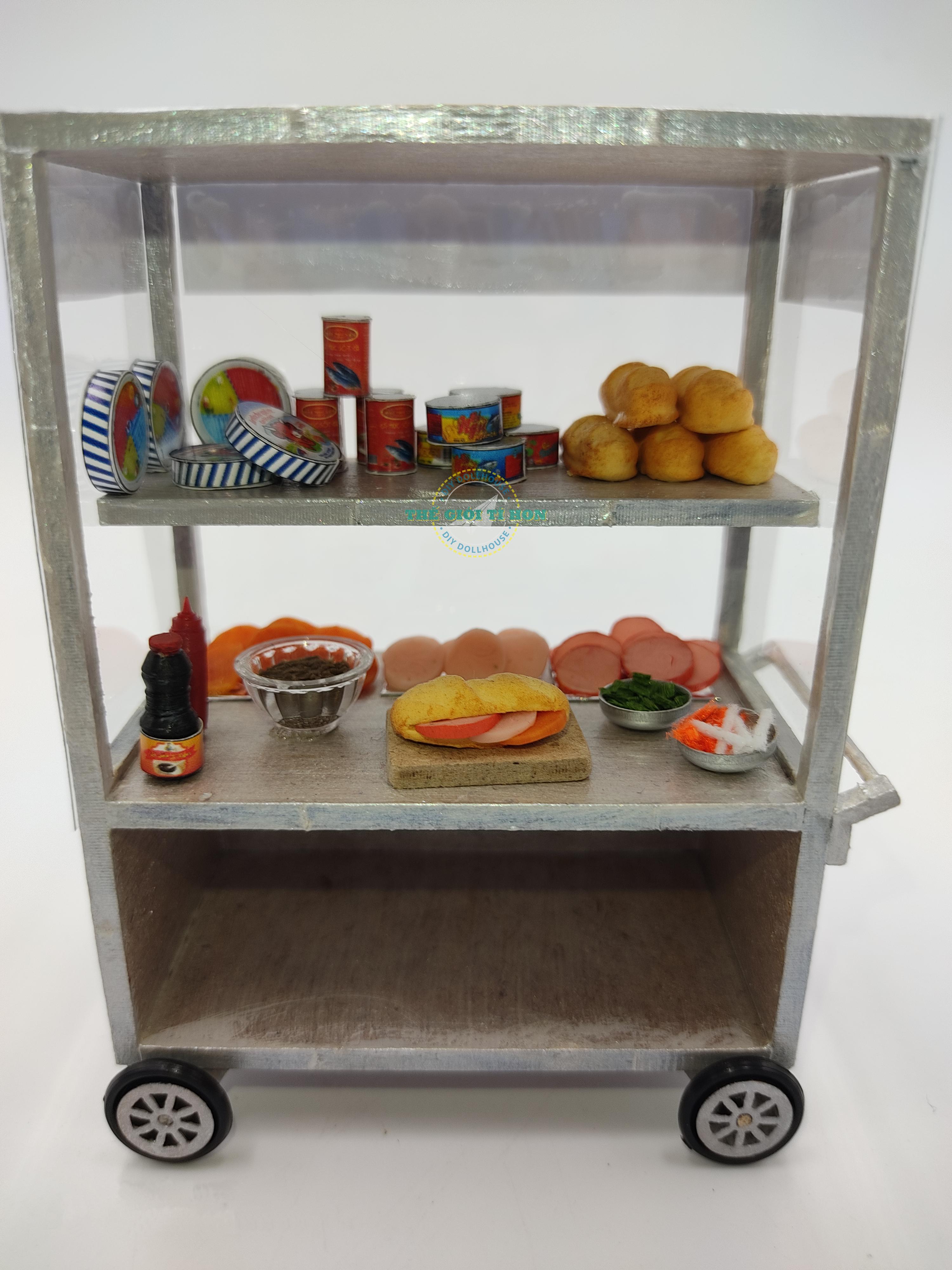 mô hình xe bánh mì việt nam miniature bằng gỗ tí hon hr13 (1)