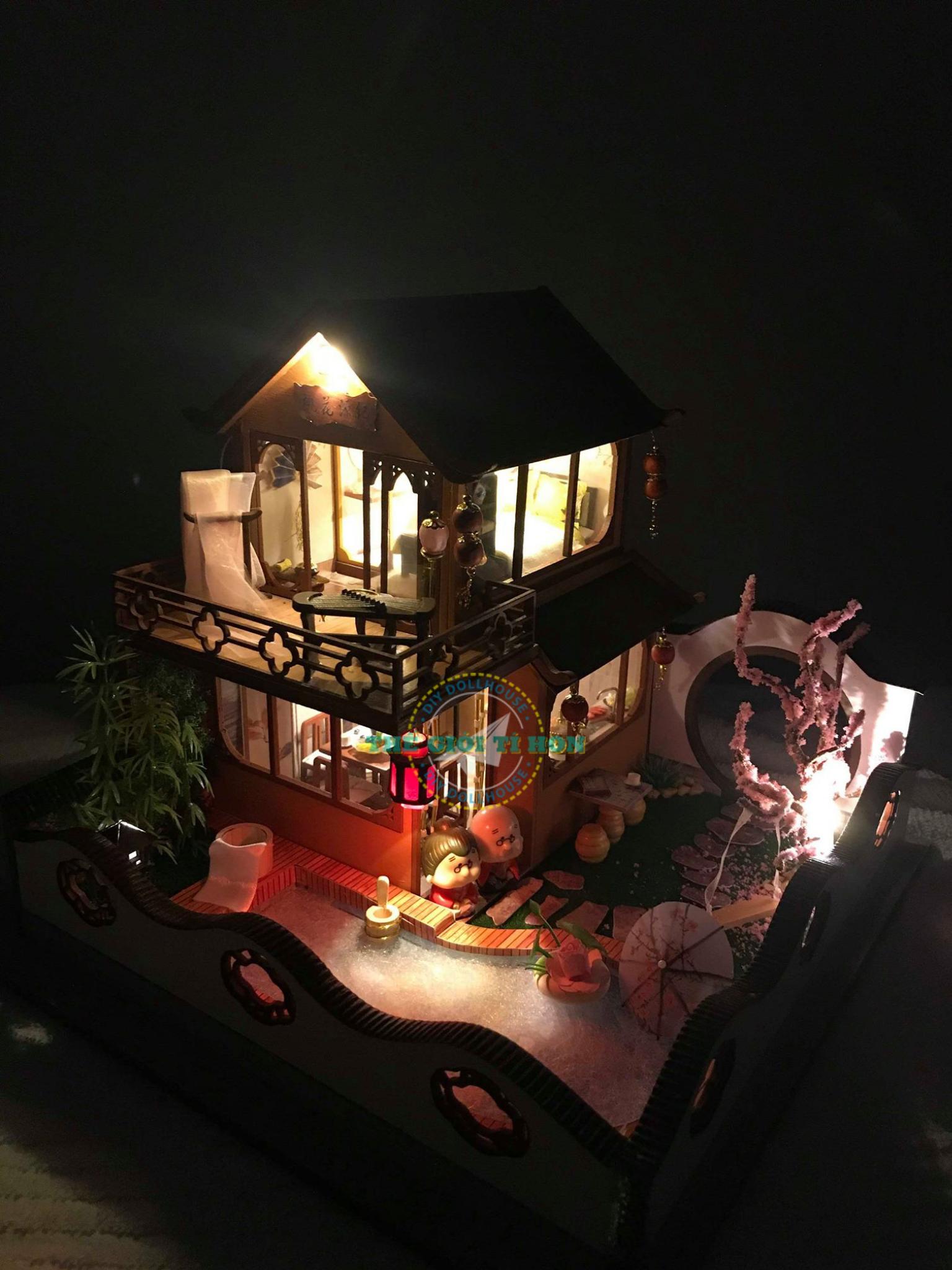 Nhà Đồ Chơi Gỗ To Sang Chảnh Handmade Của Chị Trân