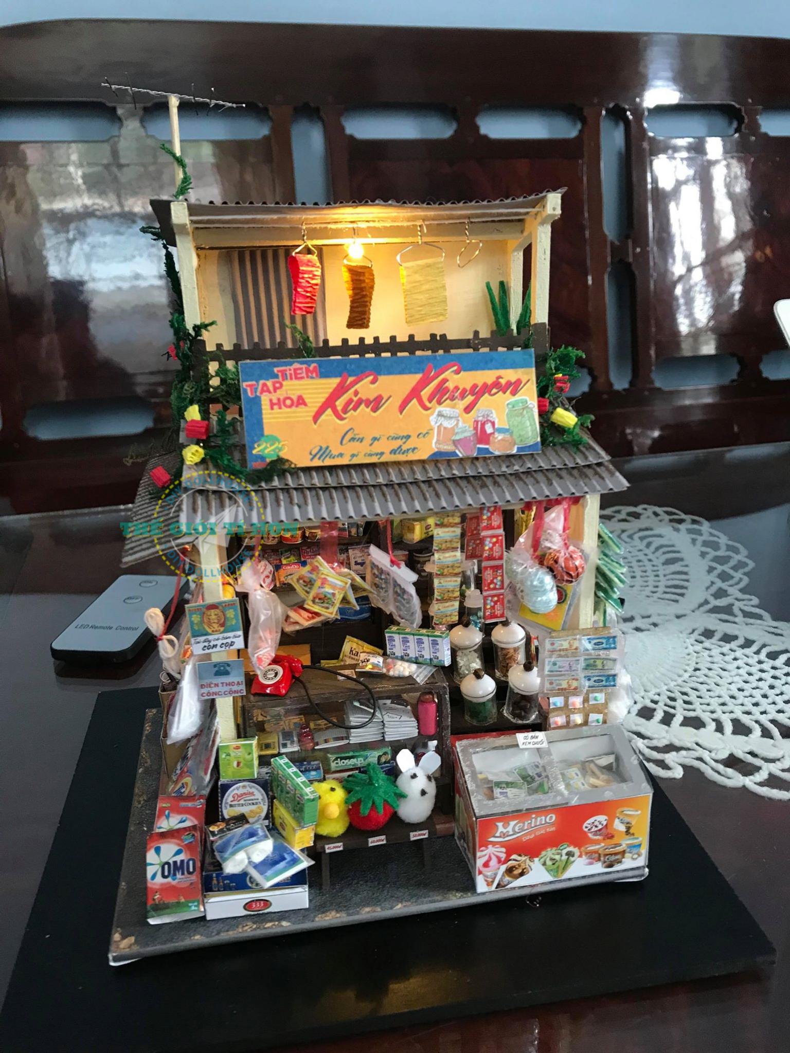 Nhà Gỗ Handmade Của Nguyễn Minh