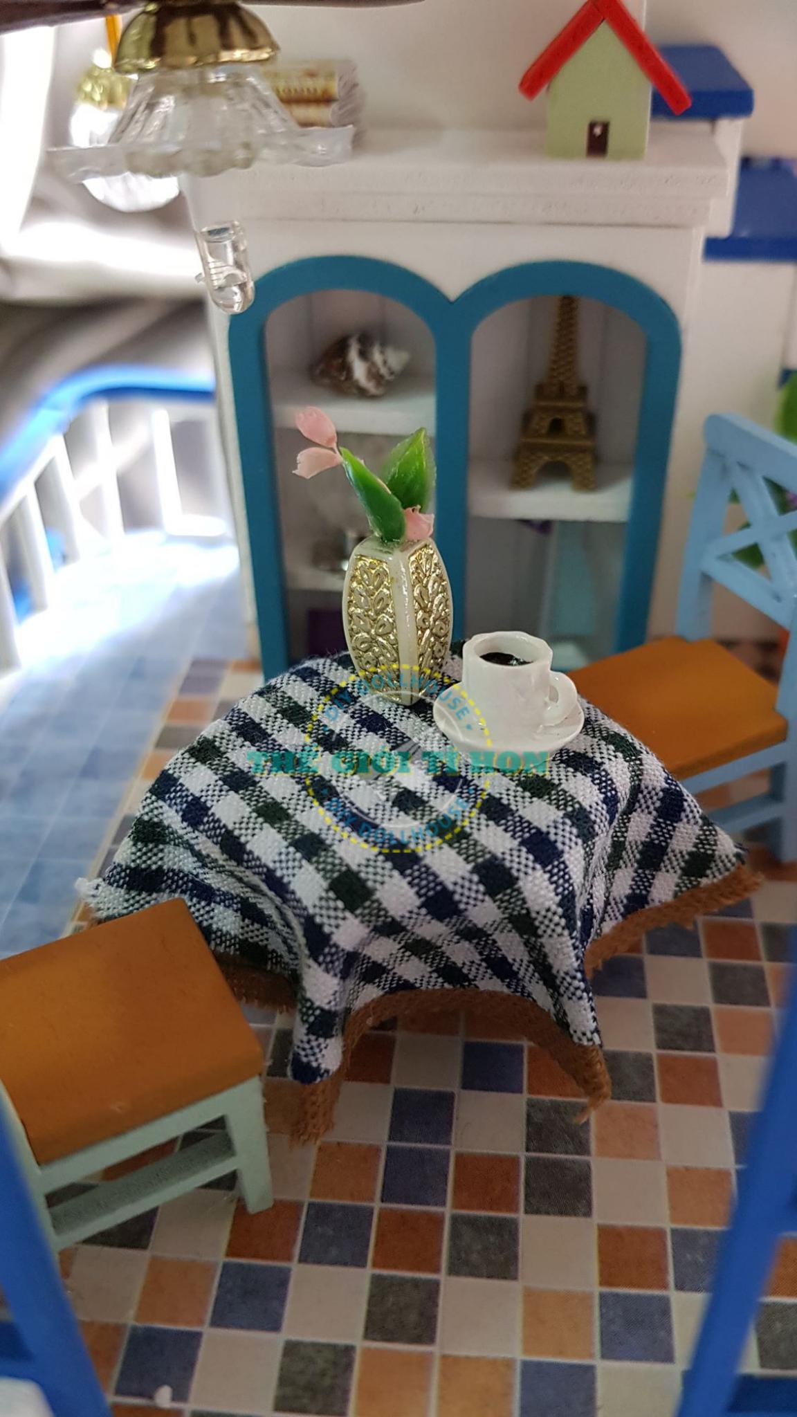 Nhà Gỗ Handmade Đẹp Của Bell Bell