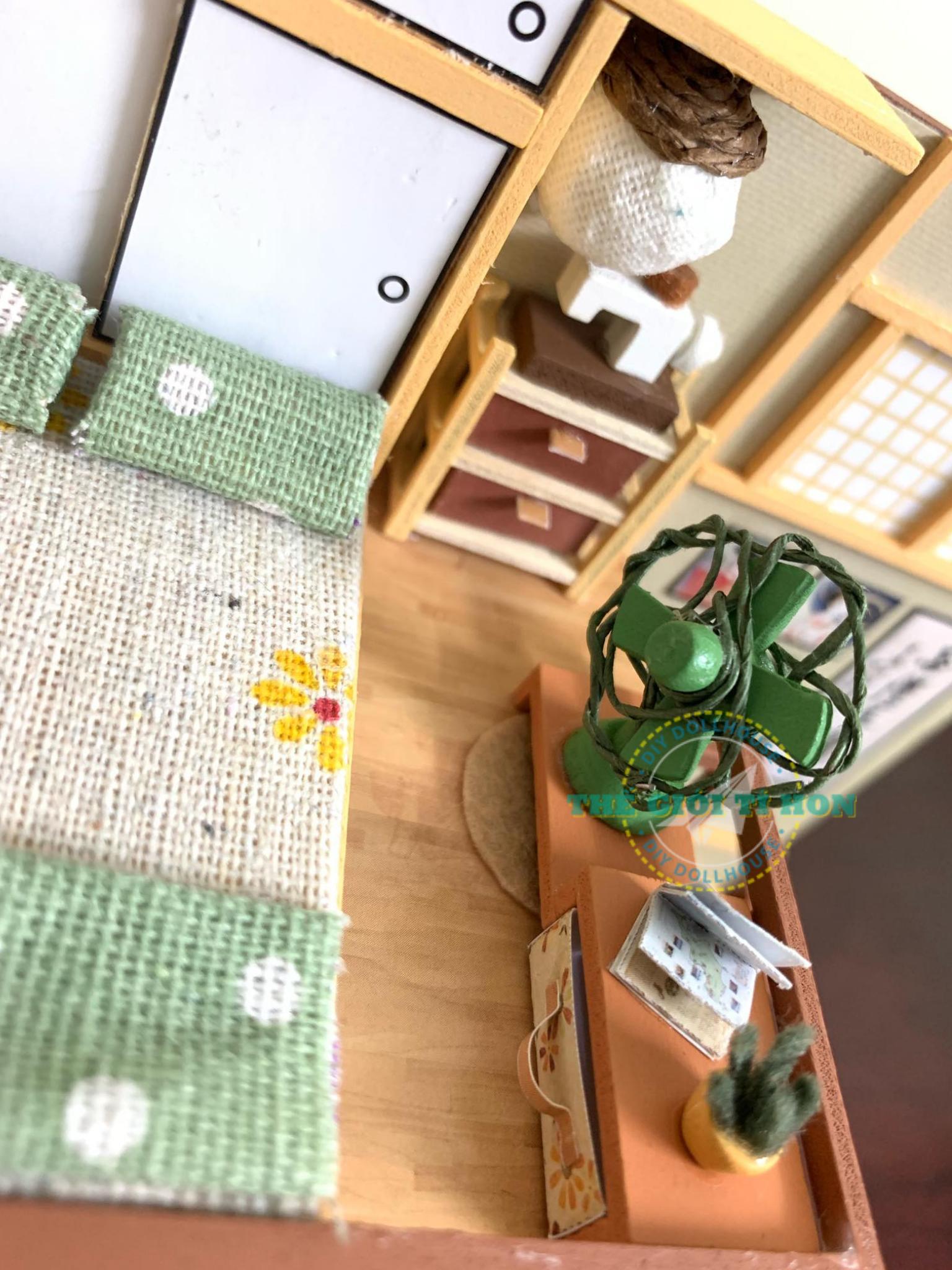 Nhà Nhật Nhỏ Xinh Làm Bằng Gỗ DIY Của Trang Lê
