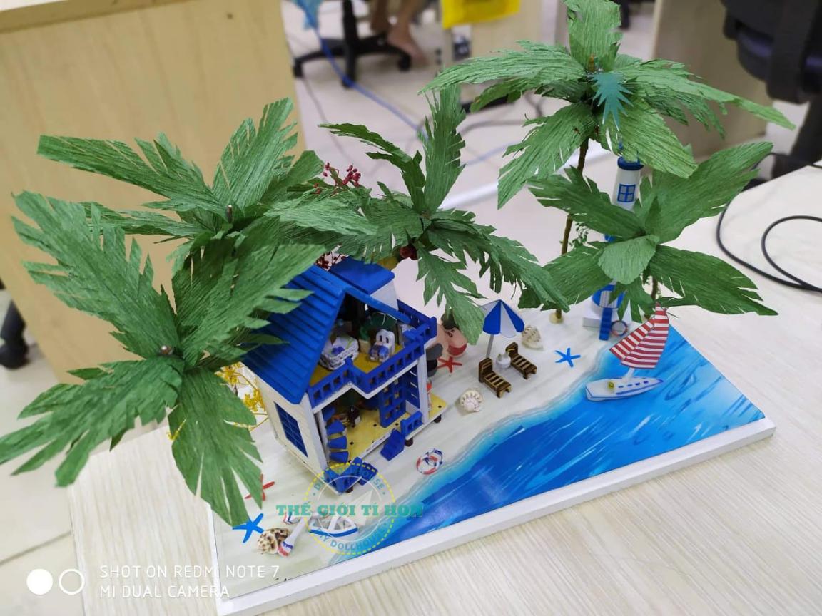 Nhà Nhỏ Bằng Gỗ Tự Lắp Ráp Của Cao Thị Tuyết Lan