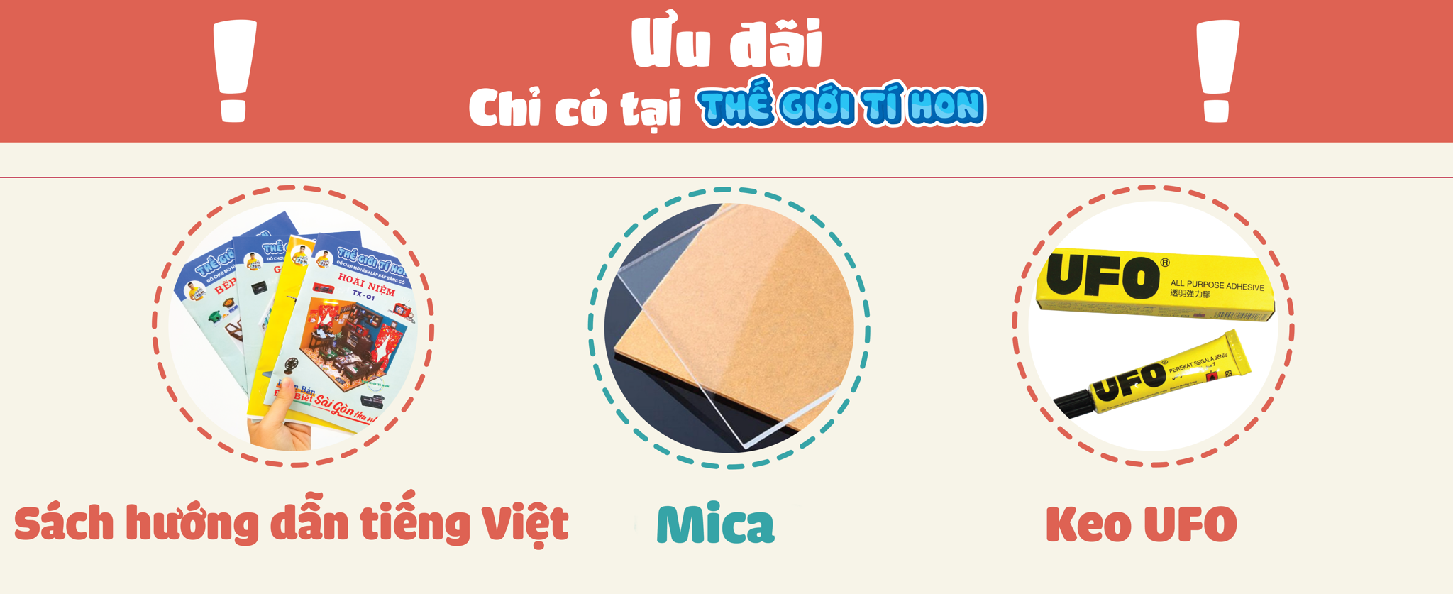 ☘ ĐƯỢC TẶNG KÈM:  ****MICA CHE BỤI CAO CẤP (TRỊ GIÁ 70K): Mica được nhập từ Đài Loan với chất lượng cao, dày, không ố vàng khi sử dụng bảo quản lâu dài, được cắt khớp chính xác, bạn không cần phải dùng keo dán làm ố lớp mica!  ****KEO DÁN GỖ CHUYÊN DỤNG UFO 7ML (TRỊ GIÁ 15K): Keo UFO là loại keo dán gỗ tốt nhất, độ bám dính cao, thích hợp để dán tất cả các chi tiết có trong mô hình. Bên cạnh đó, với thời gian keo khô không quá nhanh, giúp bạn có thể kịp thời sửa chữa các chi tiết nếu lắp sai!   ☘ Sách hướng dẫn chụp hình cụ thể từng bước cách lắp ráp, lấy thang điểm 10 đánh giá độ khó thì mẫu này ở cấp độ 5/10 cực kỳ thích hợp cho cả người mới bắt đầu!  ☘ Hỗ trợ in hình chibi miễn phí, giúp bạn bước chân vào thế giới tuổi thơ cùng với chú mèo máy Doraemon và anh chàng Nobita hậu đậu  !!QUÀ TẶNG KÈM CÓ HẠN!!   ‼️ MUA NGAY BÂY GIỜ VÌ SỐ LƯỢNG SX KO NHIỀU ĐỂ ĐẢM BẢO CHẤT LƯỢNG SP