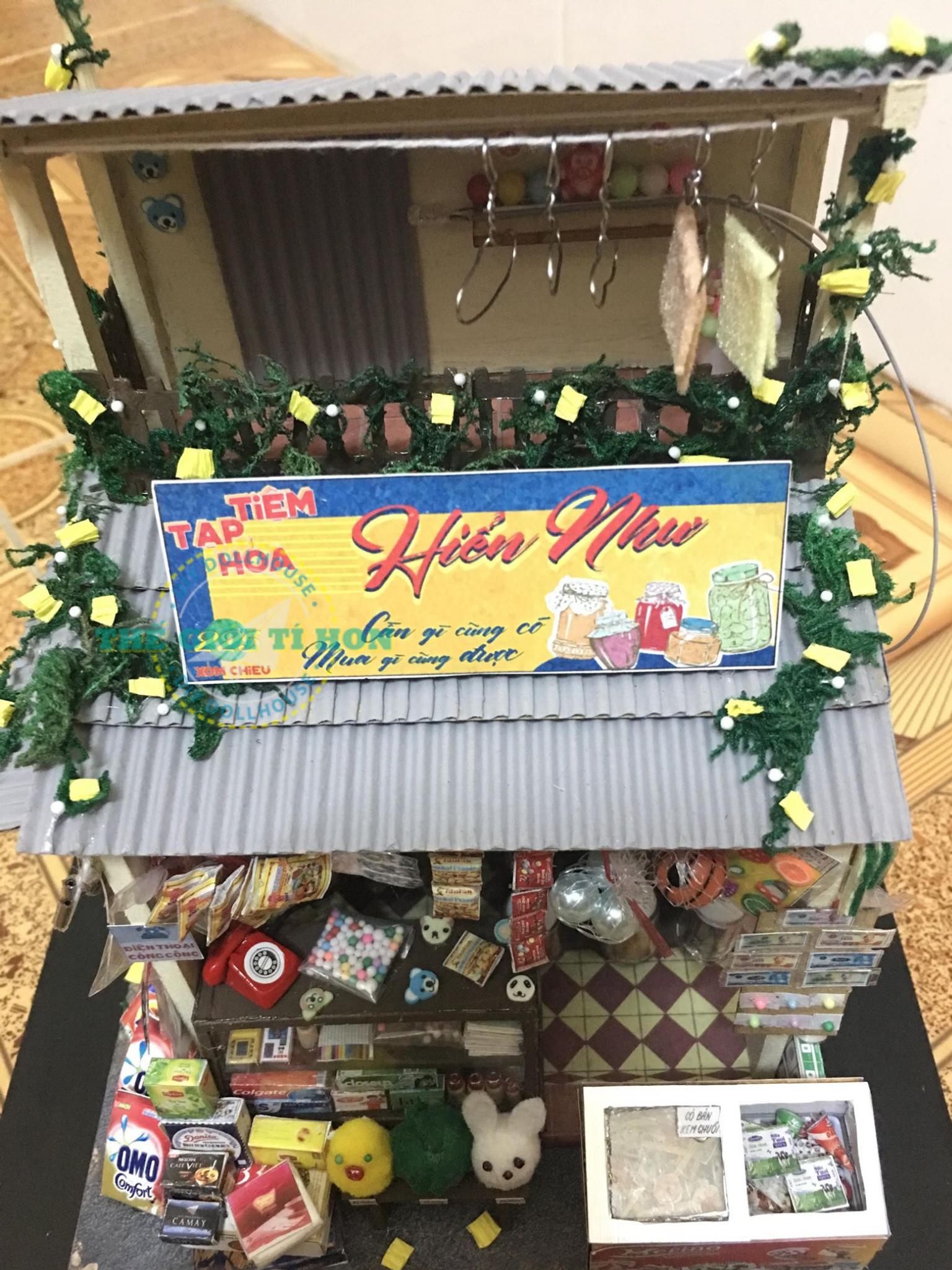 Sài Gòn Thu Nhỏ Mô Hình Bằng Gỗ DIY Của Ngọc Như