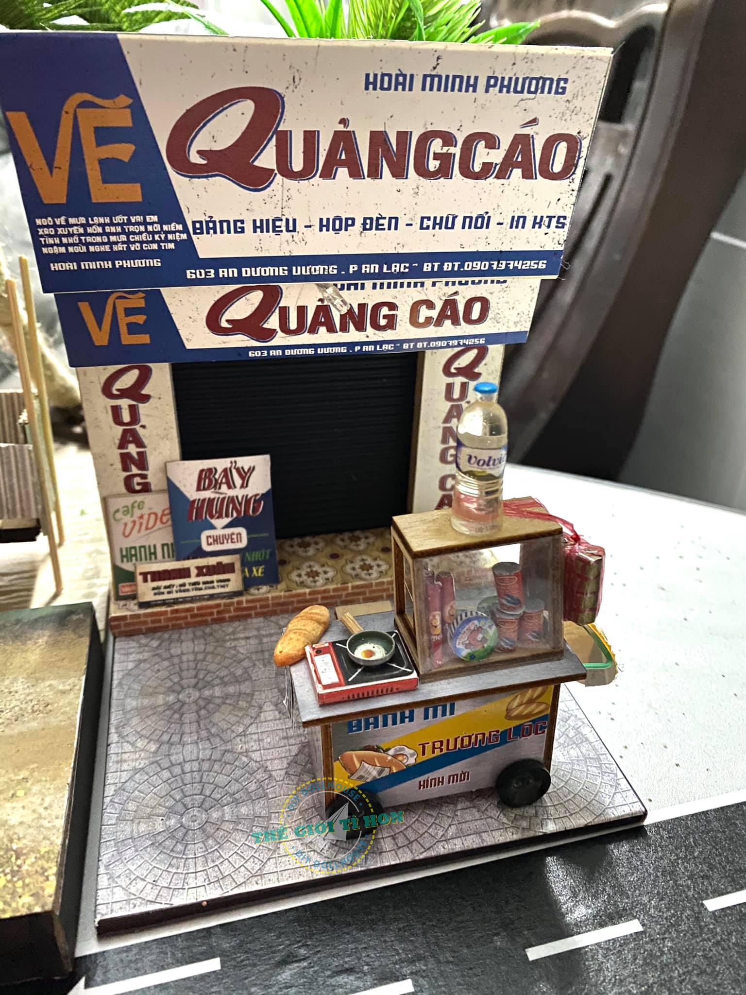 Kiệt Tác Thành Phố Sài Gòn Xưa Thu Nhỏ Của Anh Quách Trường Lộc