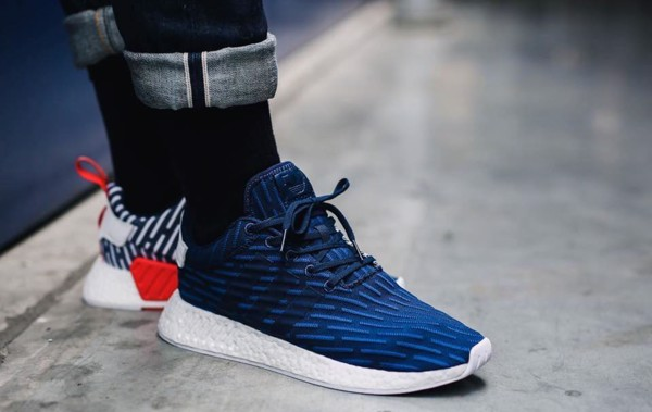best service 08245 69949 ADIDAS NMD R2 NAVY & WHITE BB2952 MEN