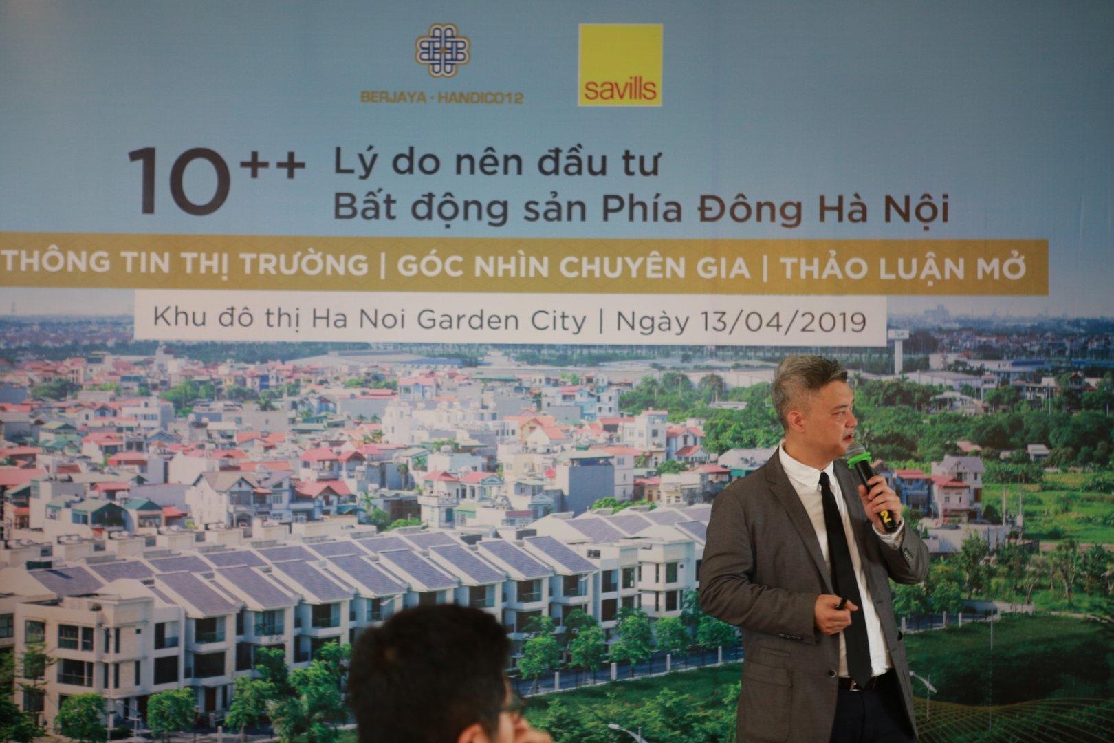 Sau 10 năm bị bỏ quên, thời của bất động sản khu Đông Hà Nội đã đến