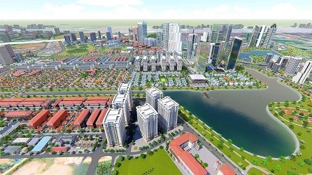 Mặt bằng chung cư Thanh Hà gây ấn tượng mạnh với các nhà đầu tư