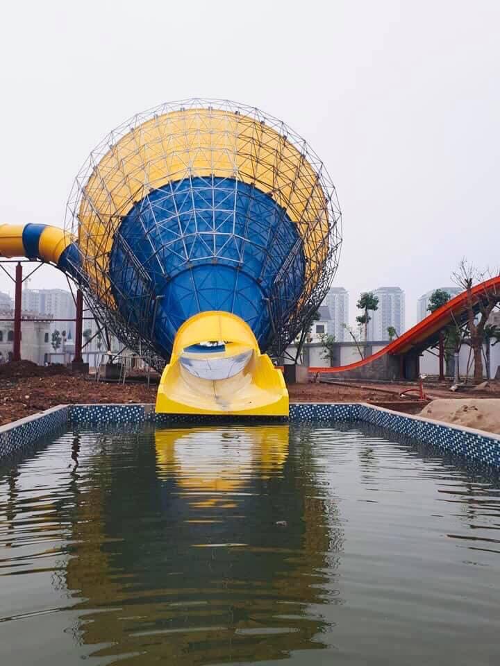 Công Viên nước trăm tỷ tại dự án Thanh Hà Cienco5 sắp đưa vào hoạt động