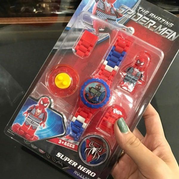 đồng hồ trẻ em lắp ráp lego cho bé, đồng hồ trẻ em lego lắp ráp cho bé, đồng hồ lego, đồng hồ lắp ráp lego, đồng hồ lắp ráp xếp hình, đồng hồ đồ chơi siêu nhân,
